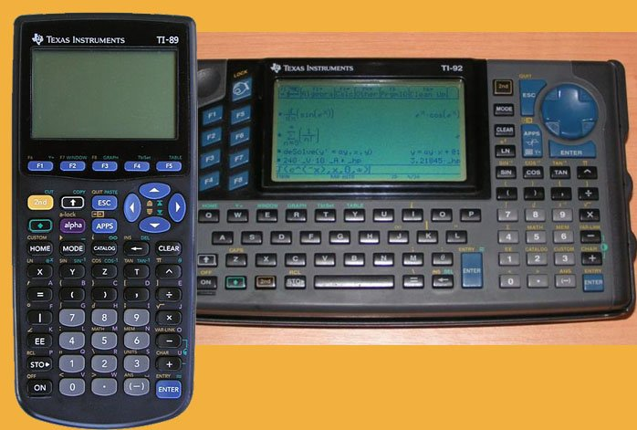 Calculatrices TI89 et TI92