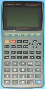 Menu (pour Casio 9900GC)