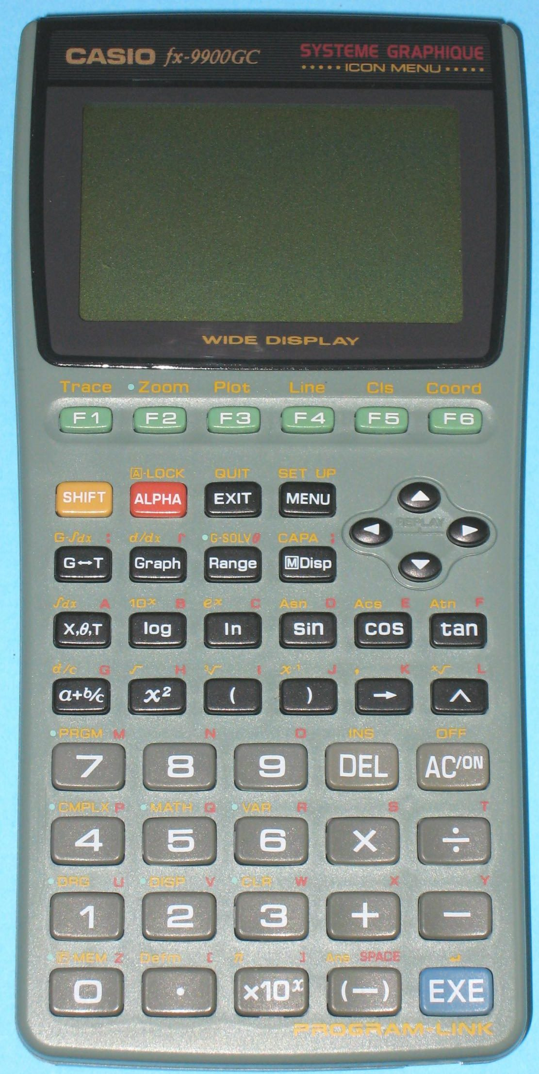 Casio 9900GC