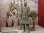 Exposition sur un tombeau de Chine, au Royal Museum de Tokyo