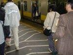 Fleches de Circulation dans le métro