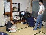 Fujiyoshida - Une des chambres traditionnelles du Youth Hotel de Shimoyoshida