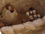 Tombe dans le cimetierre de Chauchilla