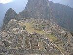 Machu Picchu - Vue ensemble