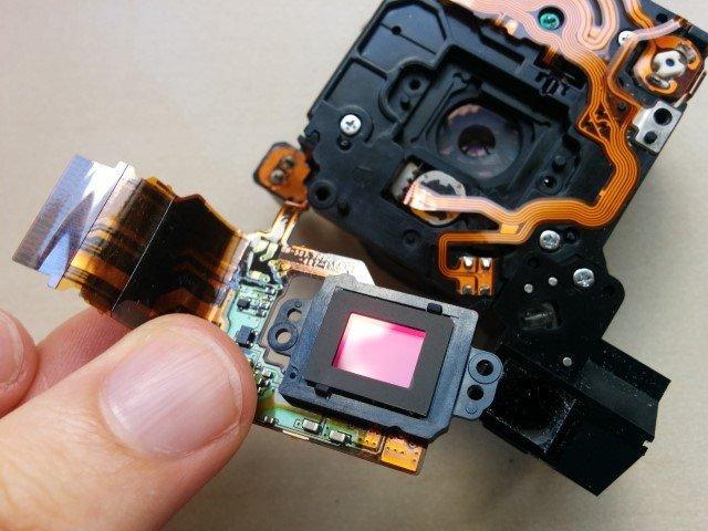 Infrarouge et APN – Retrait du filtre IR