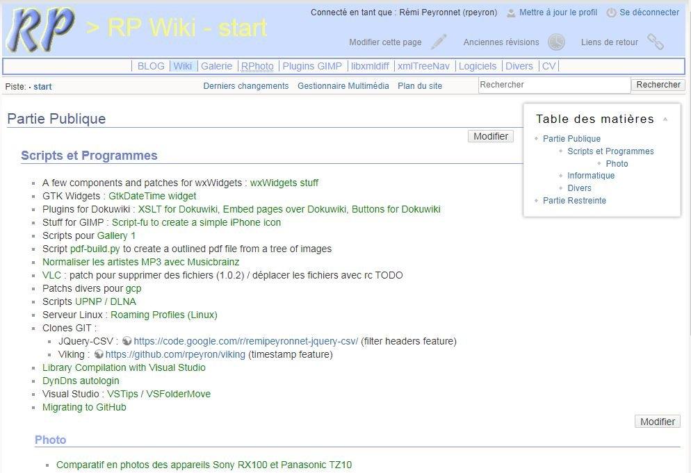 Le wiki (Dokuwiki)