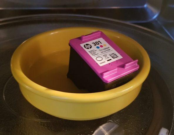 Méthode pour récupérer des cartouches d'imprimante sèches (super bizarre)