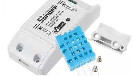 Ajouter un capteur de température à un Sonoff Basic