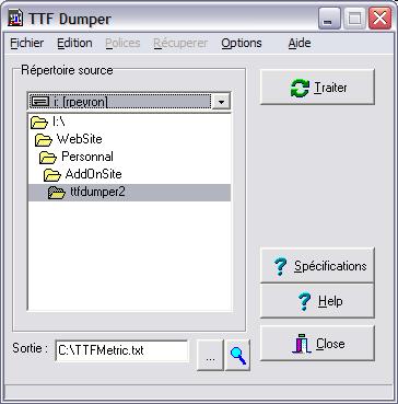 TTFDumper2