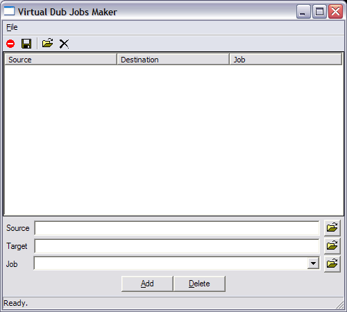 VDBatch – Virtual Dub Job Maker